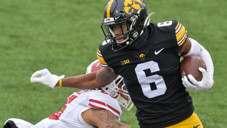 Vikings Select Iowa Wide Receiver Ihmir Smith-Marsette in Fifth Round of 2021 NFL Draft