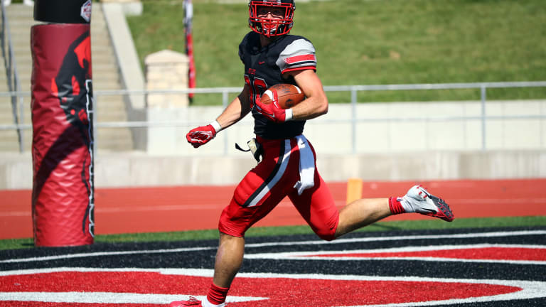 Vikings Draft Athletic Division II Tight End/Punter Zach Davidson in Fifth Round