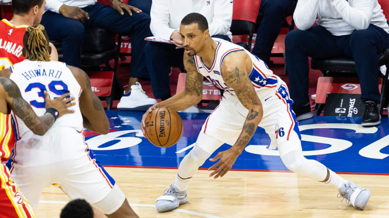 Dwight Howard, Sixers are Thankful for George Hill's Presence