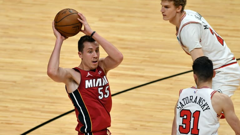 Miami Heat's Duncan Robinson Continues to Make Mark Among League's Best Shooters