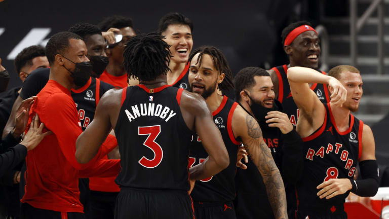 Raptors Finding Happiness in Success of Khem Birch and Freddie Gillespie