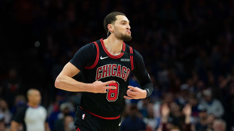 Chicago Bulls Star Zach LaVine Won't Play vs. Sixers on Monday