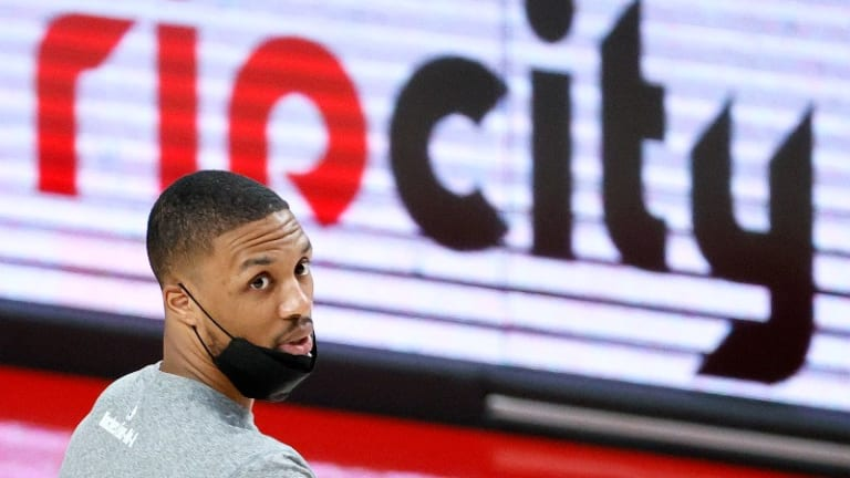 Damian Lillard Laments COVID-19 Restrictions Keeping Fans Out Of Moda Center