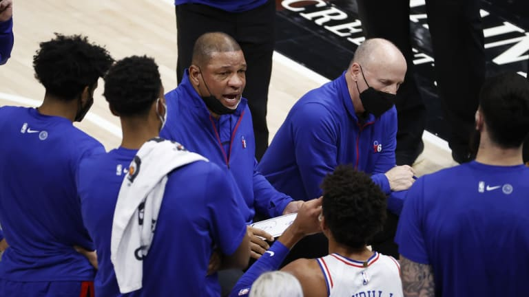 Doc Rivers Discusses Sixers' Improved Road Record After Beating Rockets