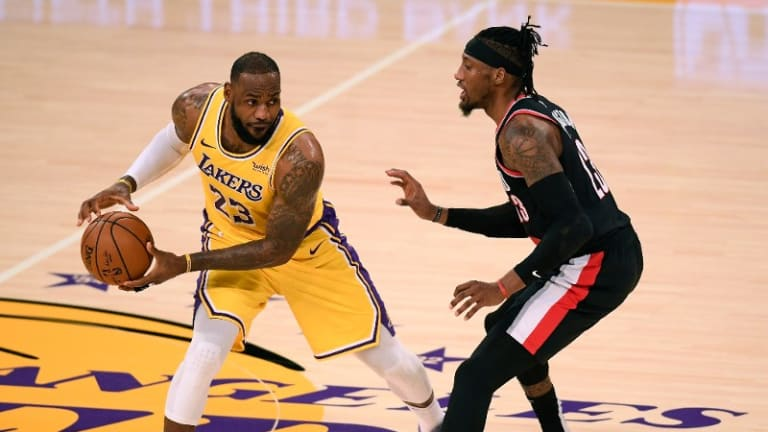 LeBron James Officially Out Against Blazers, Keeping Lakers Short-Handed