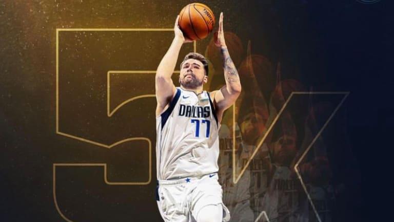 Luka Doncic Hits 5,000: Dallas Mavs Top Cavs, Clinch Division Title