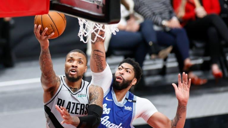 Damian Lillard, Blazers Hold Off Lakers To Earn Huge Tie-Breaker