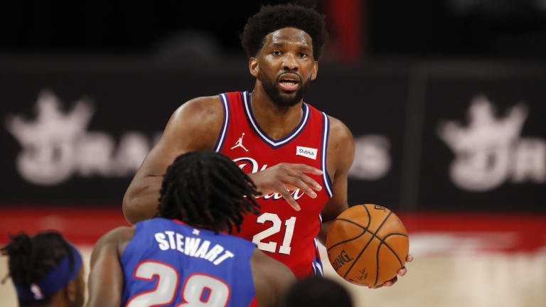 Sixers vs. Pistons: How to Watch, Live Stream & Odds for Saturday