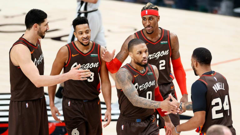 Blazers Show Out In Highlight-Filled Win Over Spurs