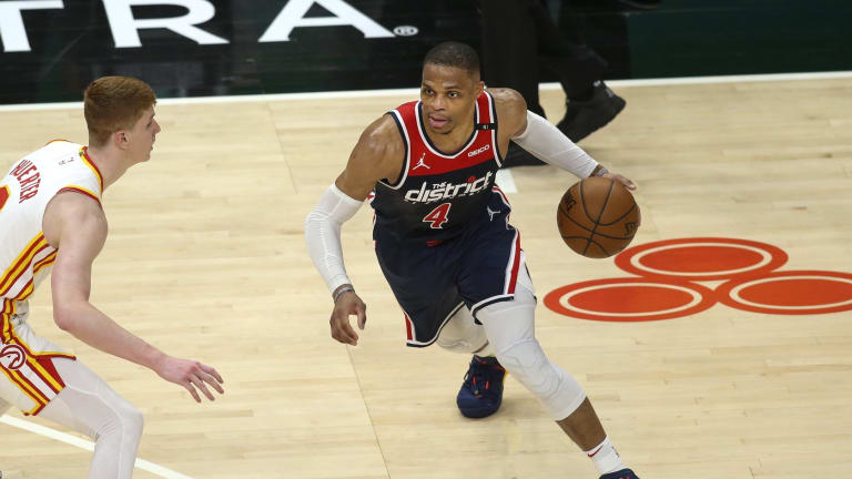 76ers Legend Allen Iverson Congratulates Wizards' Russell Westbrook