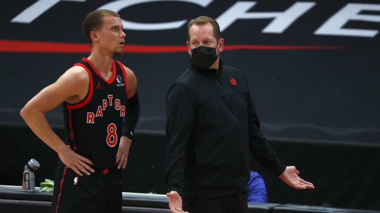 Nick Nurse is 'Extremely Optimistic' about Young, Developing Group