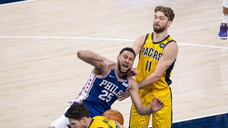Pacers Prevent Sixers From Locking in First Seed, Clinch Play-In Spot