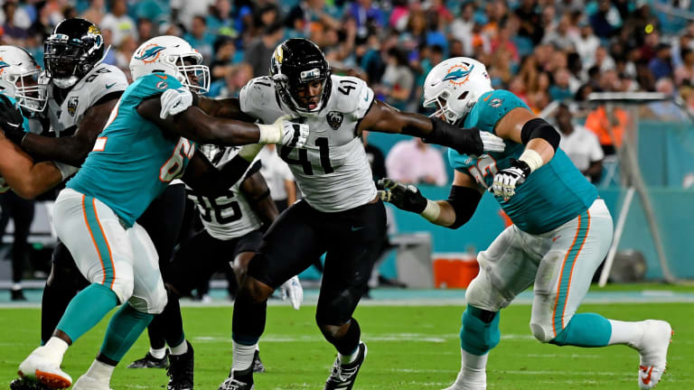 3 Observations on the Jaguars Drawing the Dolphins as Their London Opponent