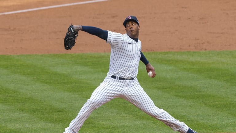 Aroldis Chapman's Expanded Repertoire Has Him Off to Scorching Start
