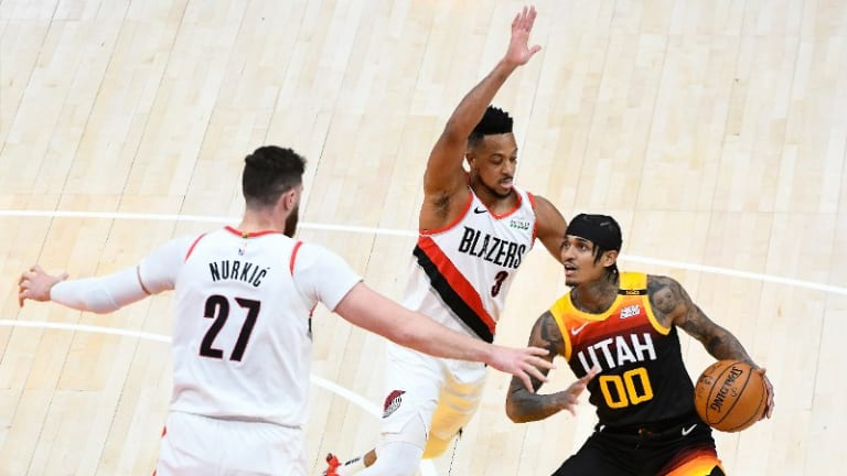 Portland Smothers Utah For Convincing, Crucial Road Win