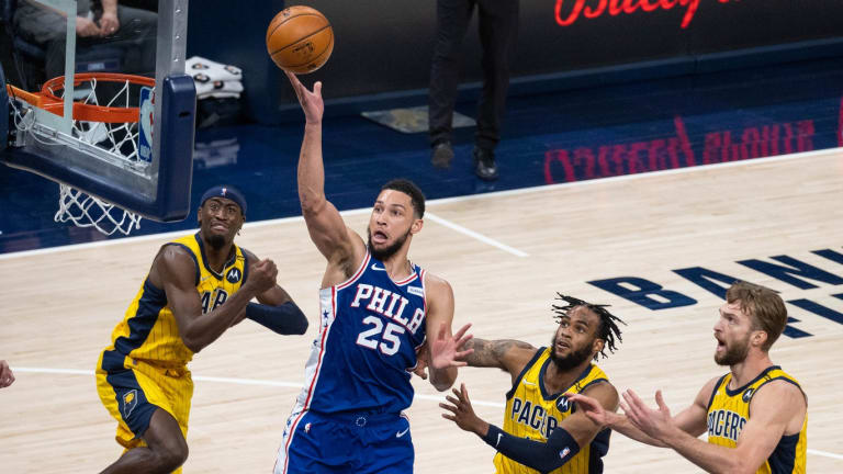 Lack Of Transition Led To Sixers' Downfall vs. Pacers