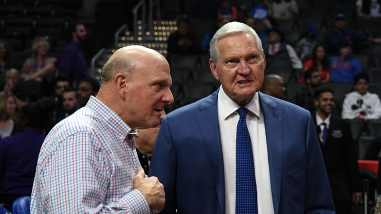 Jerry West on Jeanie Buss' Laker Rankings: 'One of the Most Offensive Things I've Ever Heard in My Life'