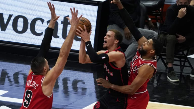 Raptors Clinch 7th-Best Lottery Odds in Loss to Bulls