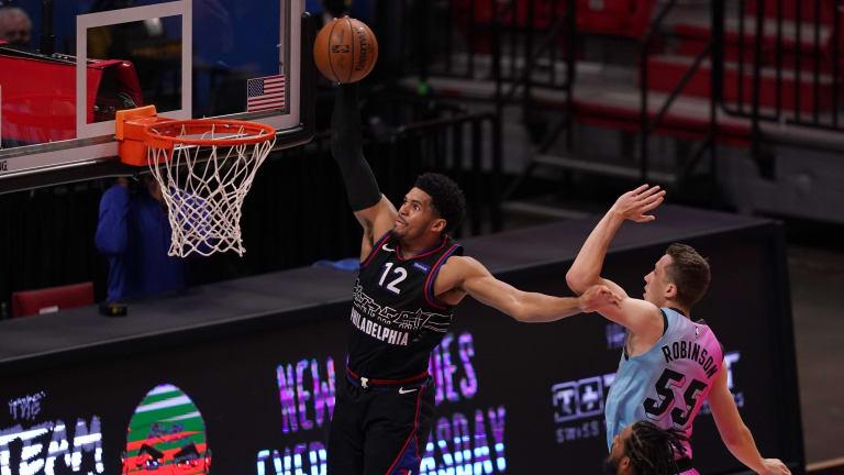 Tobias Harris Says Miami Heat 'Definitely' Sent a Message to Sixers