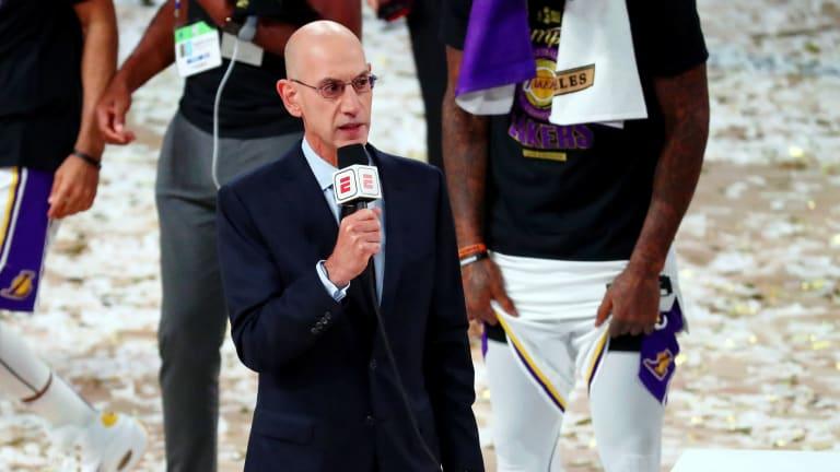 Report: Adam Silver Wants NBA to Add an In-Season Tournament Like the WNBA