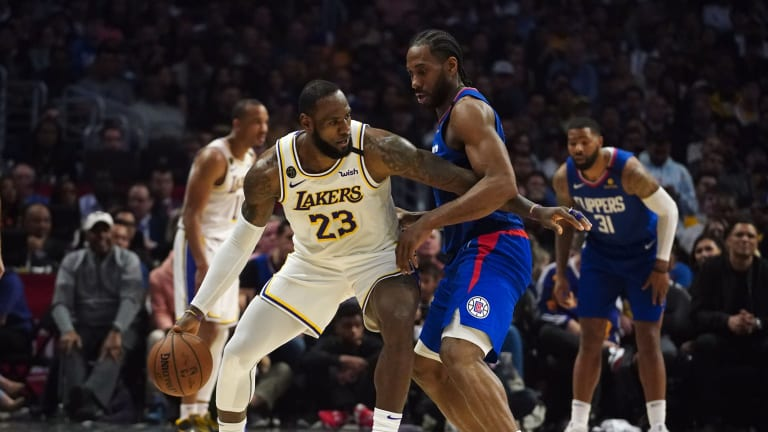 The Clippers and Lakers Can No Longer Face Each Other In First Round
