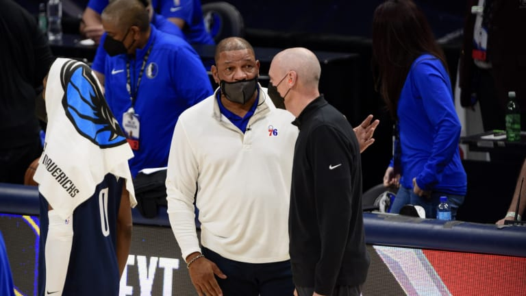 Doc Rivers Reacts to Sixers Clinching Top Seed In Eastern Conference