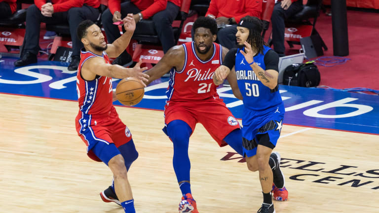Joel Embiid Credits Sixers' Group Effort for Landing No. 1 Seed