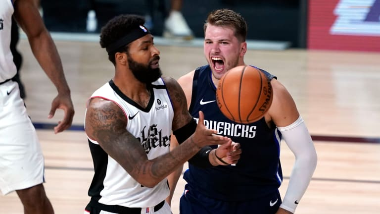 Luka Doncic says Marcus Morris Sr. Apologized for Stepping on his Heel during Last Year's Playoffs