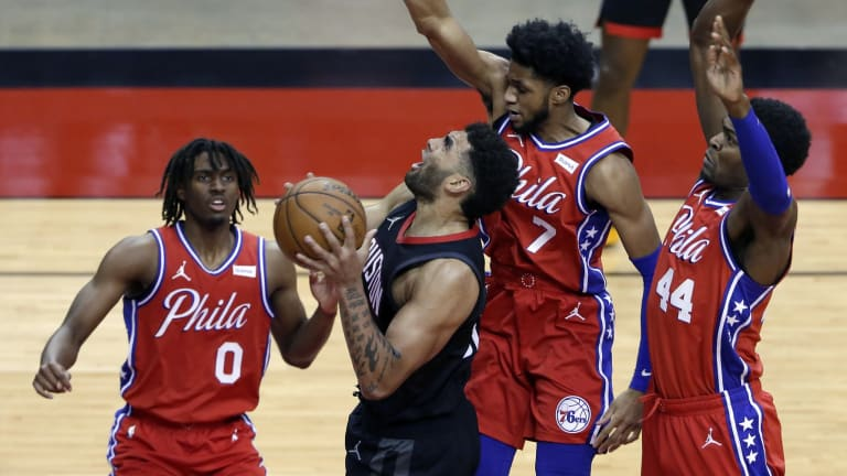 Sixers' Paul Reed Blown Away By Tyrese Maxey's Play