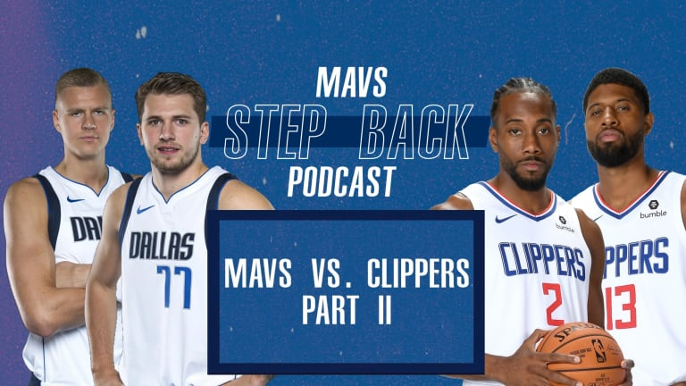 Mavs Step Back LIVE: Clippers Part II - A 49% Chance At Luka Doncic Revenge?