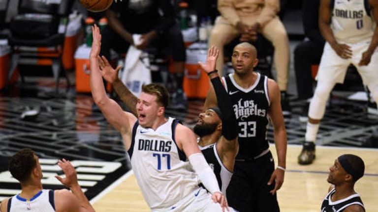 Mavs Upset Clippers Led By 'Head Of The Snake' Luka Doncic