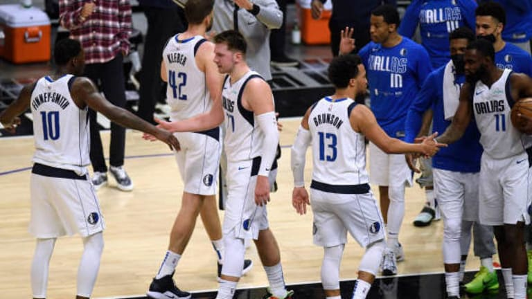 Mavs In Playoffs: Luka Helpers Bomb Clippers From Long Range