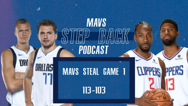 Mavs Step Back LIVE: Doncic Delivers In Game 1 Win Over Clippers