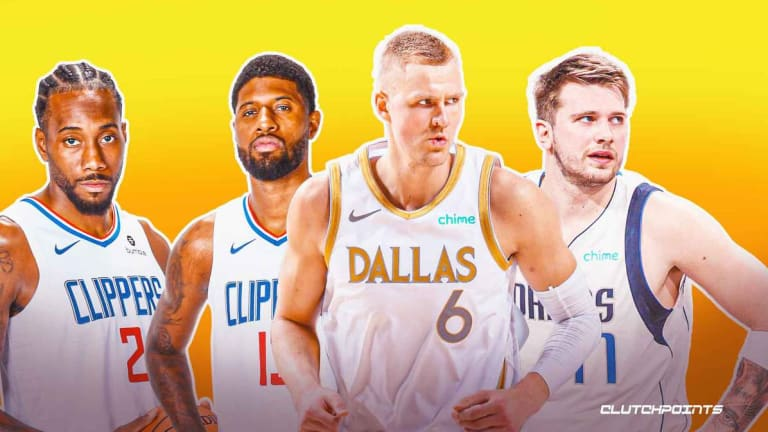 Mavs' Porzingis Issues 'Weapons Warning' To Clippers For Game 2