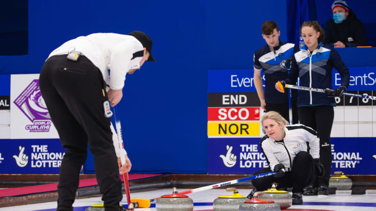 Scotland Captures First World Mixed Doubles Curling Championship