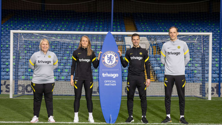 Chelsea's Partnership With Trivago Officially Begins