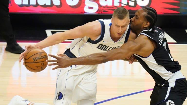 Kristaps Porzingis Fined $50K; Mavs vs. Clippers: NBA Playoffs Game 2