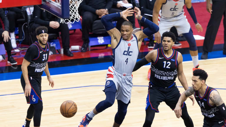 Sixers vs. Wizards: Watch, Live Stream, & Odds for Game 2 NBA Playoffs