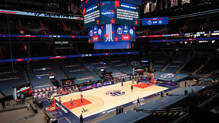 Wizards Increase Fan Capacity Ahead of Game 3 vs. Sixers