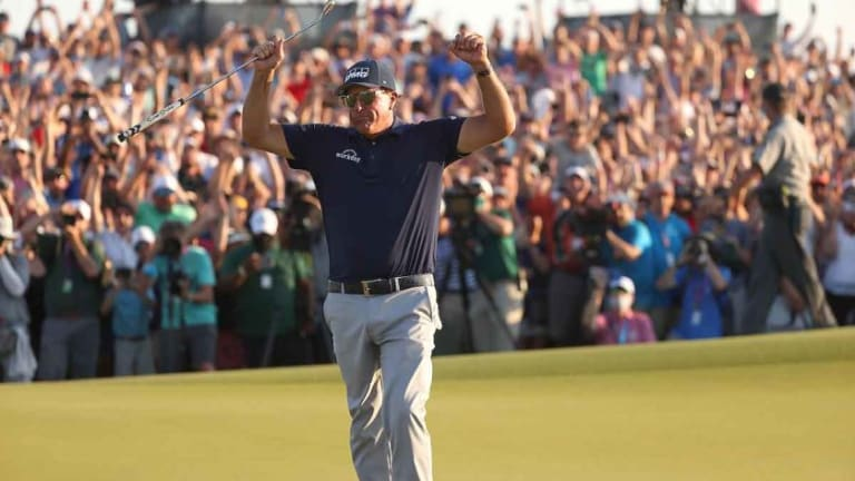 Thrill of a lifetime: Phil Mickelson prevails at PGA