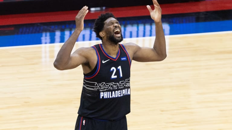 Joel Embiid Excited to Play in Front of Wizards Fans for Game 3