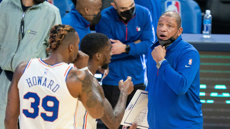 Doc Rivers Keeping Consistent Message to Sixers Following Game 3