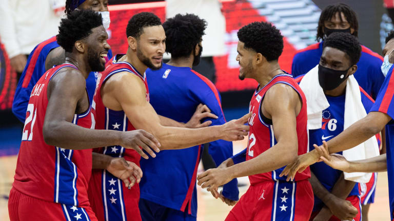 Doc Rivers Discusses Growth of Sixers' Big Three