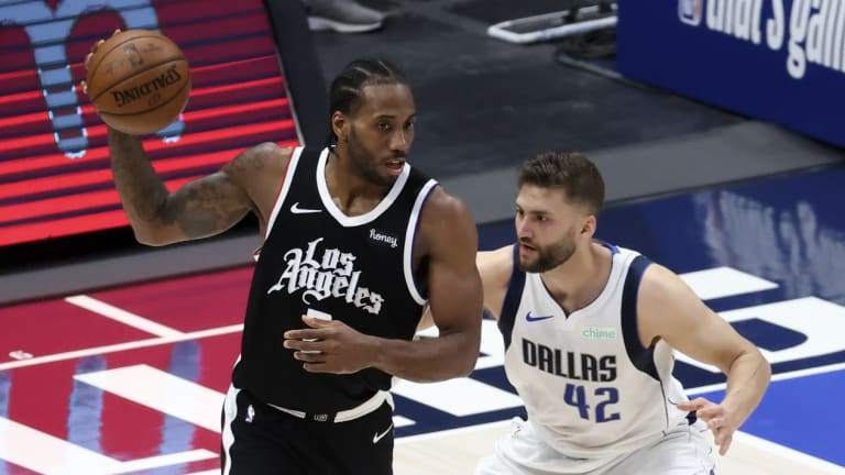 Kawhi Leonard says 'job is not done yet' after Clippers tie Mavericks series in Game 4