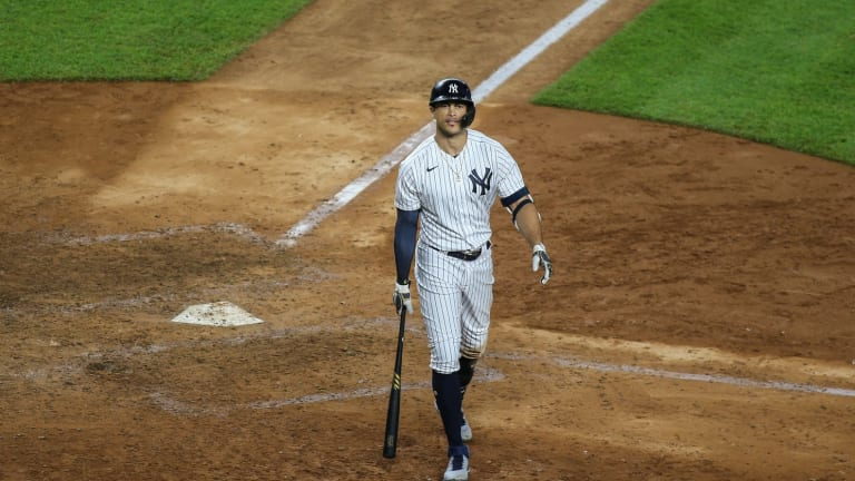 Stanton Still 'Dusting Off Some Rust' After Return From Injured List