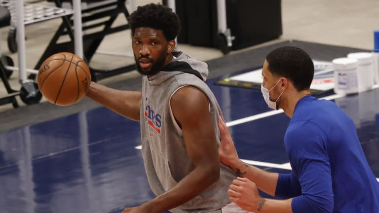 Joel Embiid Rumored to be Fine After Game 4 Injury