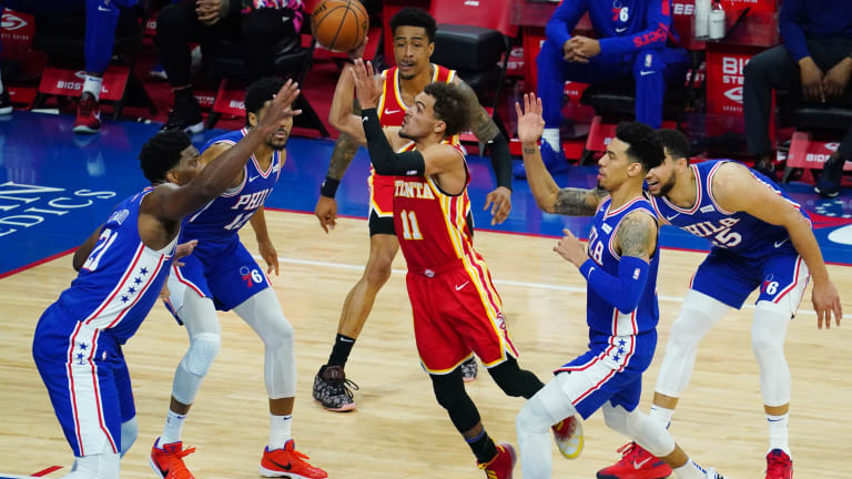 Danny Green, Doc Rivers Discuss Plan to Counter Hawks star Trae Young