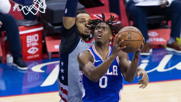 Sixers Praise Tyrese Maxey After Game 5 Performance vs. Wizards