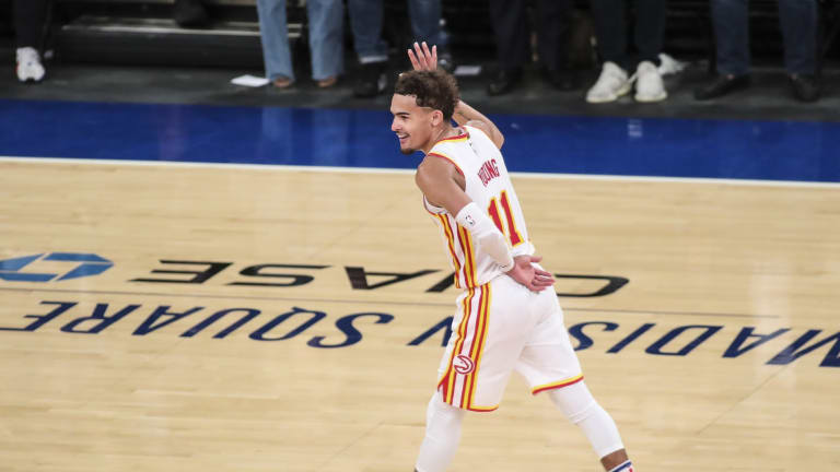 Hawks' Trae Young Looks Forward to Meeting Sixers' Playoff Crowd