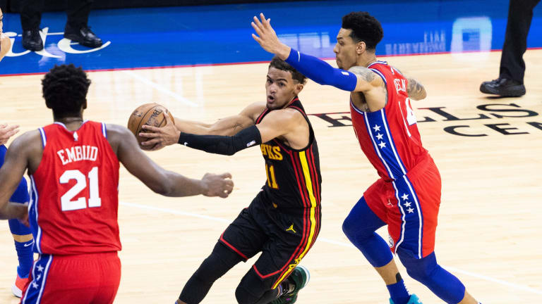 Sixers Fall Just Short of Comeback in Game 1 Loss to Hawks